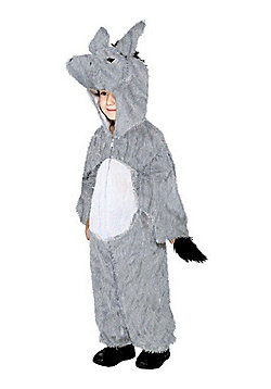Child Donkey Costume Grey Medium