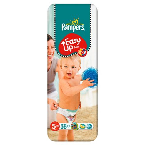 Pampers Easy Ups Size 5 (Junior) Economy Pack 38