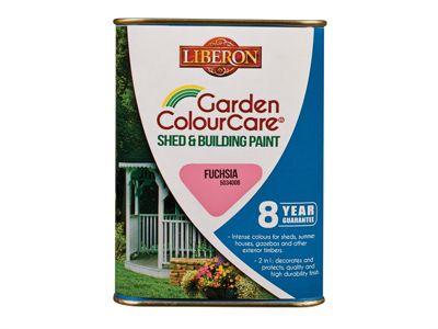 Liberon Shed & Building Paint Fuchsia 1 Litre