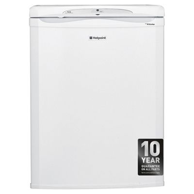 Hotpoint RLAAV22P Undercounter Fridge, 55cm, A+ Energy Rating, White