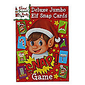Elves Behavin' Badly Deluxe Jumbo Elf Christmas Snap Cards Family Game