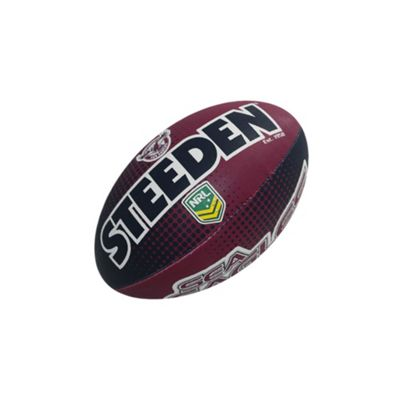 Steeden NRL Manly Sea Eagles 2018 Supporter Midi Rugby League Ball