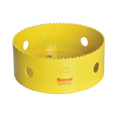 Starrett 140mm Holesaw High Speed Steel Bi-Metal Hole Saw HSS Wood Metal Plastic