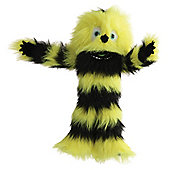 Yellow Black Monster Puppet