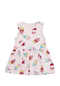 F&F Ice Lolly Summer Dress - Pink