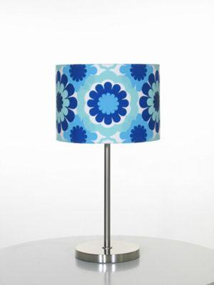 Globen Lighting Retro One Light Table Lamp - Blue