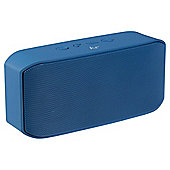 KitSound Miami 10W Bluetooth Portable Speaker with FM Radio - Navy Blue