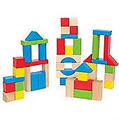 Hape 50 Piece Block Set