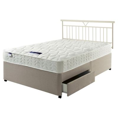 Silentnight Kendal Miracoil 2 Drawer Storage Divan Double