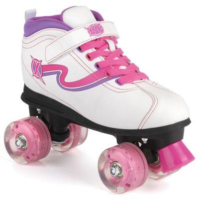 Xootz Light Up Wheel LED Quad Skates - Size 13