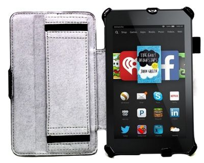 Black Case For Amazon Fire 7 Tablet