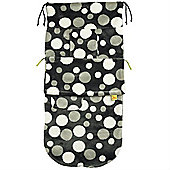 Buggy Snuggle Fur Buggysnuggles (Charcoal Retro Spotty)