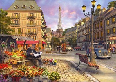 Paris Street Life - 1500pc Puzzle