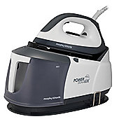 Morphy Richards 332007 2400 Watts Power Steam Elite Steam Generator Iron - White & Grey