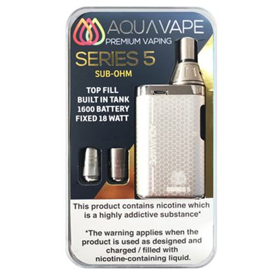 Series 5 Starter Kit (Sub Ohm) - Silver