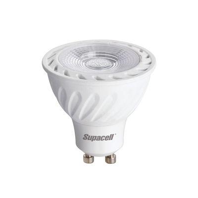 Pack of 12 Wide Beam GU10 Spotlight Bulbs 3W (eqv 25W) - Warm White