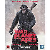 War For The Planet Of The Apes 3D Bd+Dhd