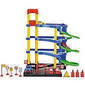 Toyrific 18 Piece Car Park Garage Toy Play Set With Accessories