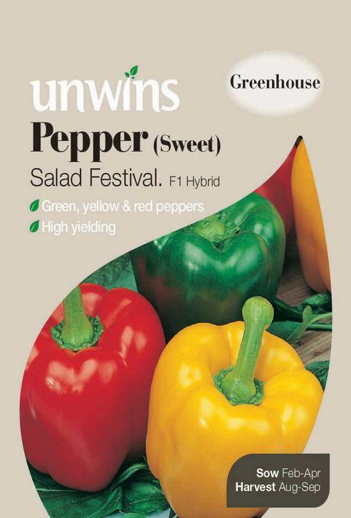 Pepper (Sweet) Salad Festival F1