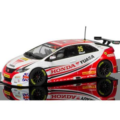 Buy Scalextric Slot Car C3734 Btcc Honda Civic Type R From Our Toy