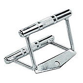 Marcy Fixed Chrome V-Bar Row Handle Cable Gym Attachment