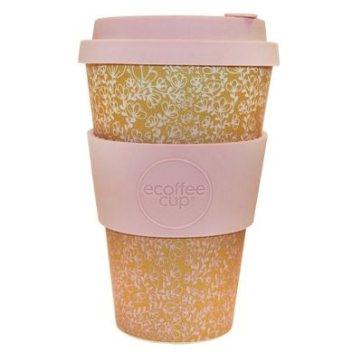 Ecoffee Cup Miscoso Primo with Baby Pink Silicone 14oz