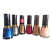 Revlon Nail Enamel Varnish 14.7ml ** Set of 6 **