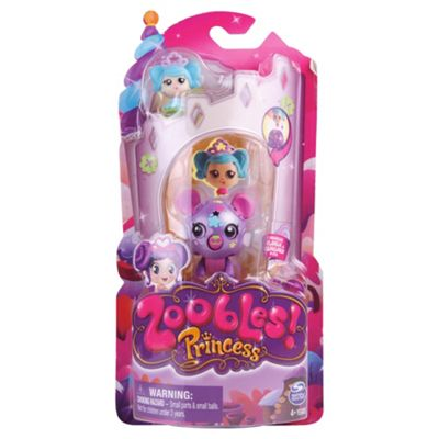 Zooble With Princess-Assortment – Colours & Styles May Vary