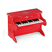 Viga Wooden My First Piano - Red
