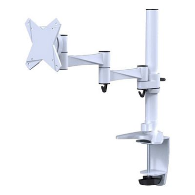 NewStar FPMA-D1330WHITE Desk Mount for Flat Panel Display