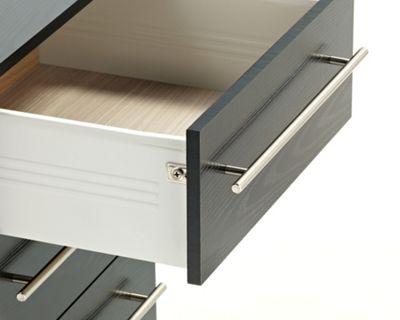Ideal Furniture Bobby 4 Drawer Slim Chest - White