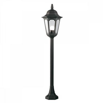 Black Pillar Lantern - 1 x 100W E27