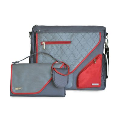 JJ Cole Metra Bag - Crimson Arbor