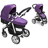 Mee-go Pramette Purple/Maxi Cosi Adaptors