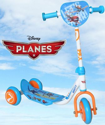 Disney Planes Kids Scooter Blue