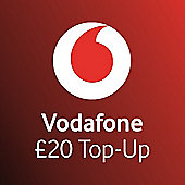 Vodafone £20 mobile Top Up