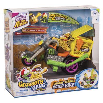 Grossery Gang Delivery Strike Motor Bike Playset