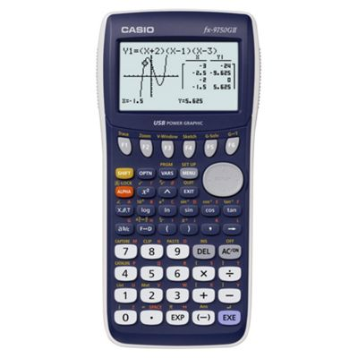 Casio Computer FX9750GII USB Power Graphic Scientific Calculator
