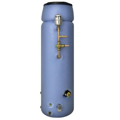 Telford Tristar VENTED SYSTEM COMBINATION Thermal Store Copper Cylinder Supplying Mains Pressure Hot Water 115 LITRES