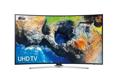 UE49MU6200 Curved 49' 4K Ultra HD-Pro HDR LED Smart TV with Freeview HD in Black
