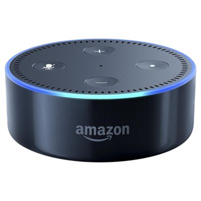 speakers bluetooth. amazon echo dot portable bluetooth speaker - black speakers ,