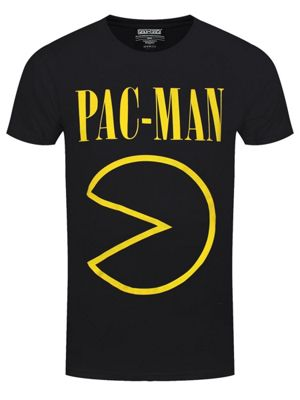 Pac-Man Nirvana Style Men's T-shirt, Black