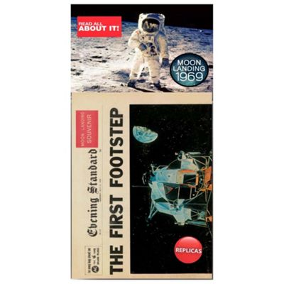 1969 Moon Landings - Replica Memorabilia Newspaper