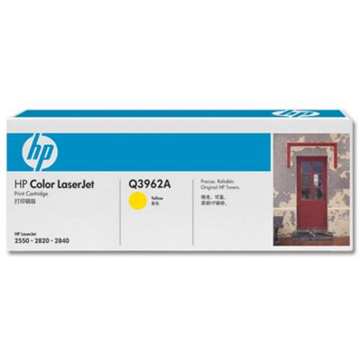 HP Yellow (High Yield) Print Cartridge for Colour LaserJet 2550