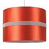 35cm Diamante Strip Ceiling Pendant Light Shade