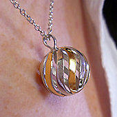 Sphere of Life Silver Necklace - Light My Fire