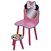 Minnie Mouse Dressing Table and Chair