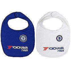Chelsea FC Baby Bibs 2 Pack