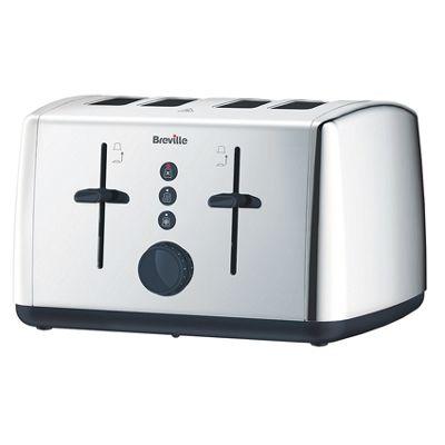Breville 4 Slice SS Toaster - Chrome