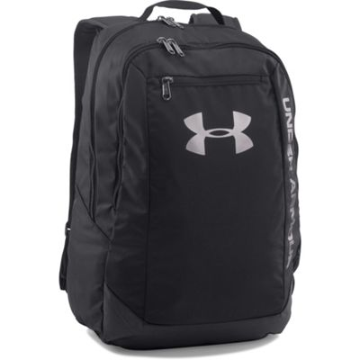 Under Armour Hustle Light Backpack Rucksack Sports Bag Black